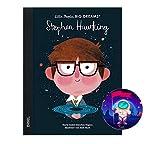 Little People, Big Dreams Stephen Hawking (édition allemande) + autocollant astronaute (biographie pour enfants)