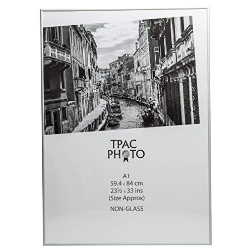 Het fotoalbum bedrijf PAAFA1B Luxe Satijn A1 Grootte Aluminium Frame