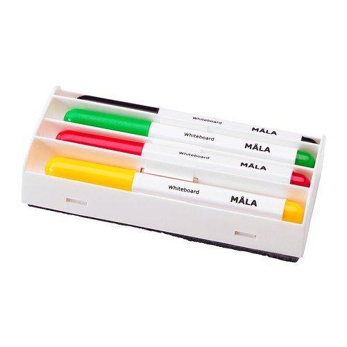 IKEA MALA Whiteboardstifte 4 Stück