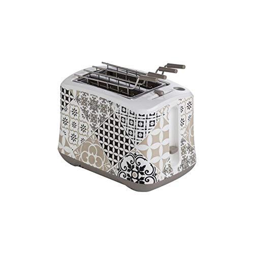 BRANDANI 53175 Alhambra Toaster aus ABS/Edelstahl, Mehrfarbig
