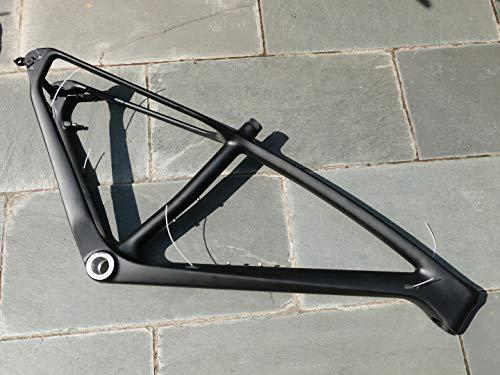 Flyxii in fibra di carbonio Matt 29er MTB Mountain Bike Telaio 19 pollici con la Bicicletta Passante Asse 12mm * 142mm