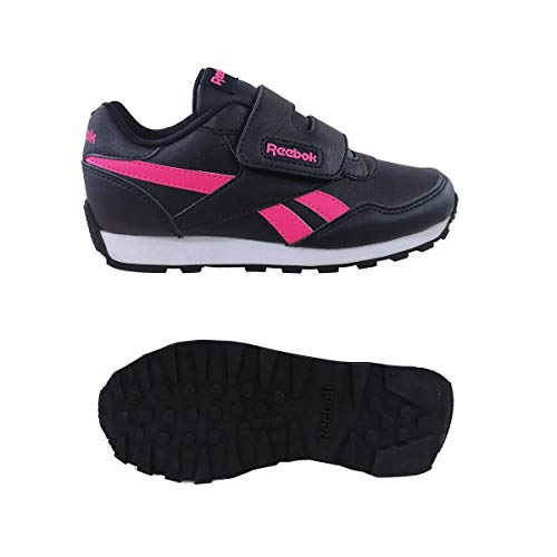 Reebok Royal Rewind Run, Zapatillas de Running, Negro/ROSSOL/ROSSOL, 33 EU