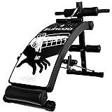 qazxsw Hocker mit Hanteln, Bänke zum Zusammenklappen von Gewichten, verstellbare Bänke zum Sitzen an der Spitze Multifunktions-Hantelbank für das Heimfitness-Fitnessstudio