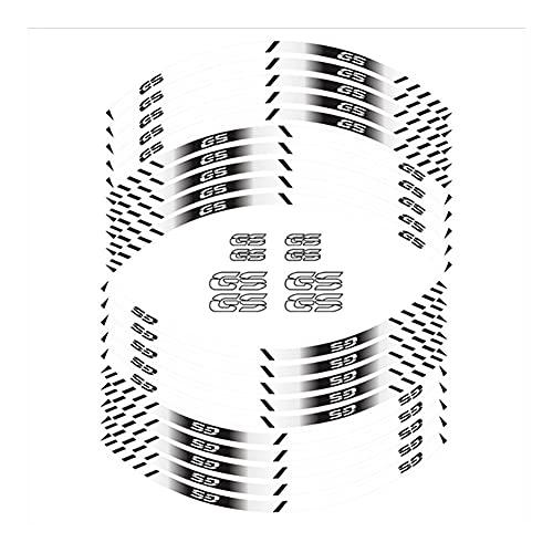 Protector DE Tanque Moto para B-M-W GS F750 F850 F650 F700 F800GS G310 R1200 R1250GS Etiqueta Engomada Impermeable Reflectante del Borde La Rueda La Etiqueta Engomada del Neumático La Motocicleta