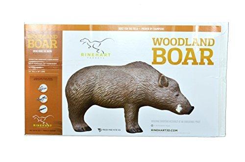 Rinehart Woodland Boar 3D Target