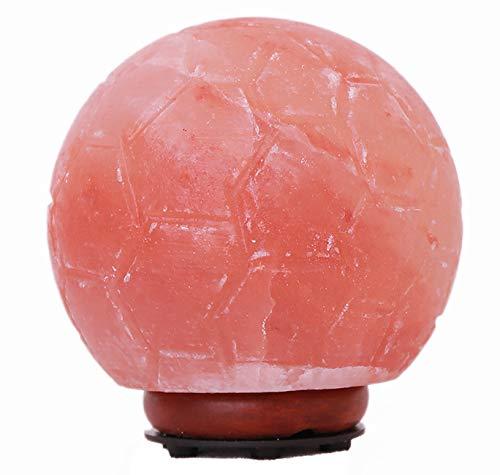 100% Originele Himalaya Crystal Rock Zout lamp 2-3 KG Voetbal Zout lamp, Geschikt voor Nacht Licht in een verscheidenheid van Scènes