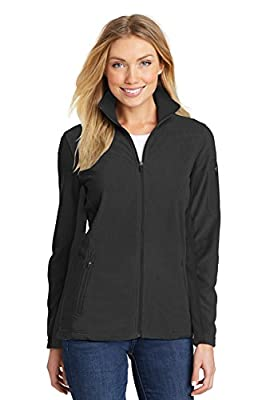 Port Authority Women's Summit Fleece Full-Zip Jacket L233 Black/Black 3XL