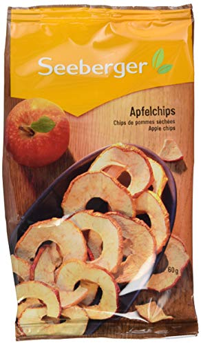 Seeberger Apfel-Chips, 6er Pack (6 x 60 g)