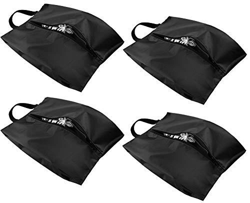 Eono by Amazon - Schuhtasche, Schuhbeutel für Reise Koffer, Shoes Bag, Schmutzabweisender Schuhsack, Urlaub Shoebag Tasche, Ideal für Trennung von Schuhen und Kleidung oder Aufbewahrung, 4 Set