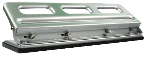 GBC Desktop VeloBinder Strip Binding Machine, 20 Sheet Punch Capacity, 200 Sheet Binding Capacity, A4, Silver, 9707121