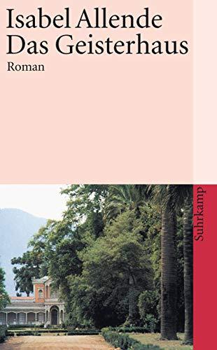 Buchseite und Rezensionen zu 'Das Geisterhaus: Roman (suhrkamp taschenbuch)' von Isabel Allende