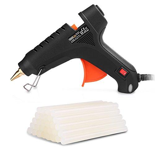 TACKLIFE-ggo60ac 60W pistola incollatrice colla, con 30pezzi colla Sticks, ad alta temperatura lexible trigger per DIY Arte e artigianato progetti e piccolo riparazione