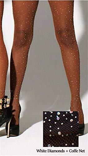 Mujeres Medias AbiertasMujeres Sexy Medias Diamantes de imitación Brillante Mallas Medias Medias Collant FemmeLencería-glitter_stockings