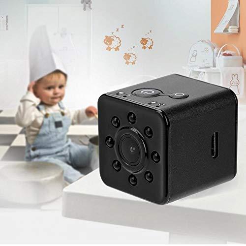 DAUERHAFT Cámara de visión Nocturna Cámara portátil de 12 MP HD, para niños, para Deportes al Aire Libre(Black)