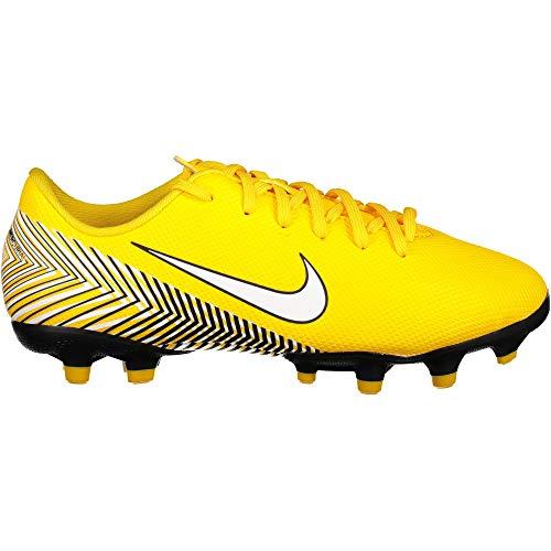 Nike Unisex-Kinder Jr. Vapor XII Academy Neymar MG Fußballschuhe, Mehrfarbig (Amarillo/White-Black 710), 30 EU
