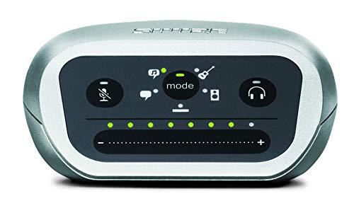 SHURE MVI-LTG, interfaz de audio digital que se conecta a micrófonos o a instrumentos y a USBC, 5 modos DSP preprogramados, captura de audio de alta calidad de 24bit/48KHz