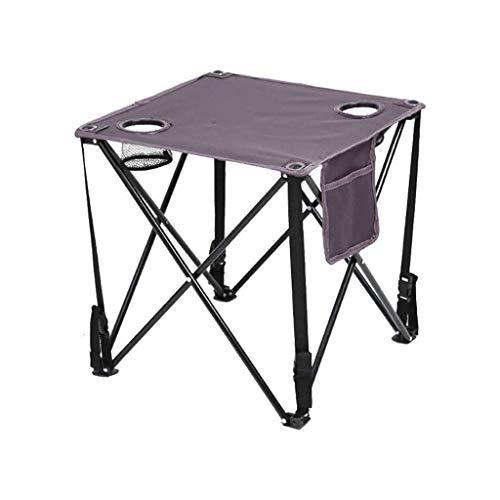 ZTTTD Mesa Plegable al Aire Libre, Simple portátil Ligero Libre de Casa de los picnics en la Playa Patio Viajes Mesa de Camping