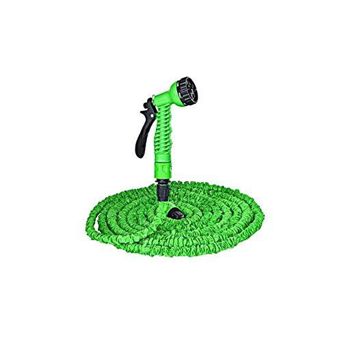 PENVEAT 7.5M-45M pour Tuyau d'arrosage Tuyau d'arrosage Tuyau Flexible Extensible Tuyau d'arrosage gartenschlauch Pistolet à Eau tuinslang waterpistool, Vert, 150ft