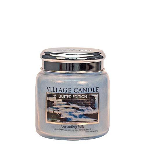 Village Geurkaars Cascading Falls | vallend water jasmijn himalaya zout - medium jar