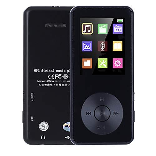 Grote geheugencapaciteit MP3-muziekspeler, ondersteuning voor 128GB Lossless Sound-muziekspeler Draagbare spraakrecorder FM-radio MP3-speler
