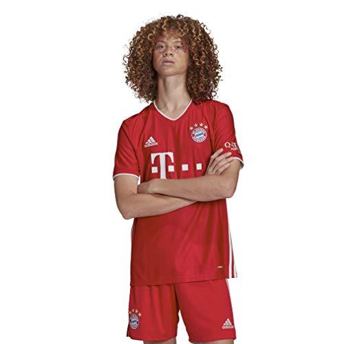 adidas Performance FC Bayern München Trikot Home 2020/2021 Herren rot/weiß, XL