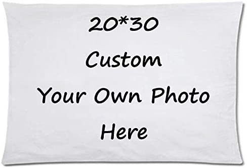 Design Your Own Photo Pillowcase Two Sides Printed Cushion Covers Custom Cotton Throw Pillow product image