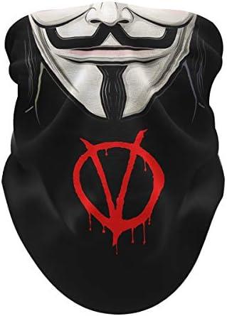 Neck Gaiter Face Mask Men Women Pull Up Tube Sleeve Bandana Wind Dust Protection product image