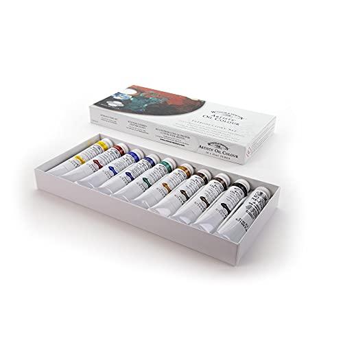 Winsor & Newton Artists' Oil Colour Paint Introductory Set, Ten 21ml Tubes