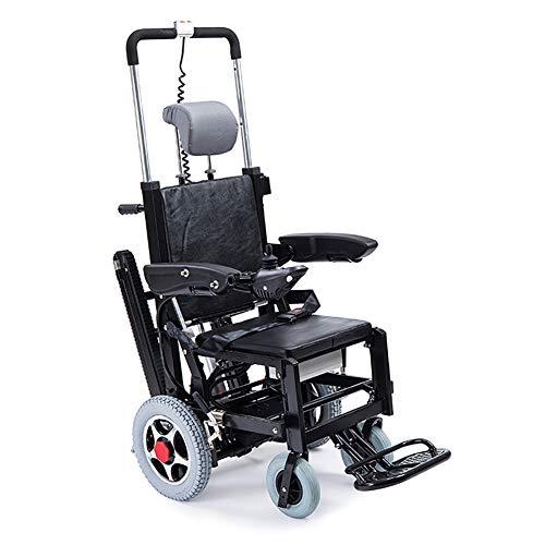 SJZV Elektrische Treppensteigen-Rollstuhl-Raupen-Elektrische Kletternde Maschine Oben und unten Treppen-Elektrischer Rollstuhl-Leichtgewichtler, der Faltet