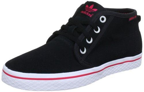 adidas Originals HONEY DESERT W Q23167, Damen Sneaker, Schwarz (BLACK 1 / BLACK 1 / BLAZE PINK S13), EU 40 2/3 (UK 7) (US 8.5)