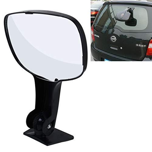 Spiegel & Parts auto achterruit groothoek weergave back-up hulpspiegel voor auto UV Van enz. zwart
