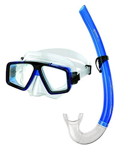 Mares Erwachsene Maske plus Schnorchel Set Starfish 12 Tauchmaske, Blue, One size