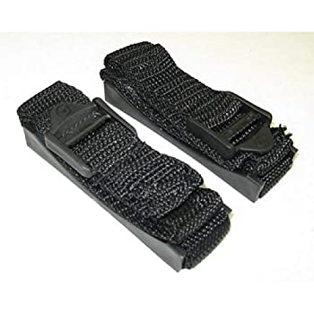 Bazooka ST10 10 Inch Black Colored Heavy Duty Mounting Strap Kit For Bass Tubes