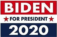 政治的なキャンペーンヤードサイン、ジョーバイデン2020、レトロな金属スズ記号20 x 30 cmヴィンテージホームヤードバーパブ装飾新しい