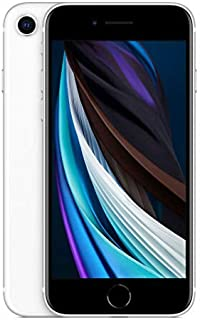 Apple iPhone SE (2020, Gen 2) 128GB MXD12X/A - White (Renewed)