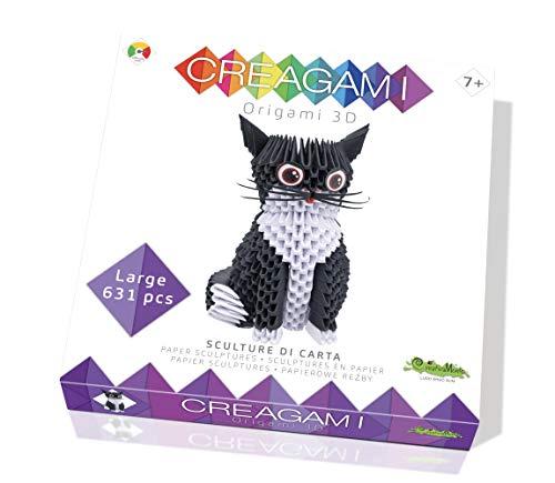 CreativaMente - Creagami - Gato, multicolor, 733 , color/modelo surtido