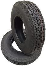 2 New Highway Boat Motorcycle Trailer Tires 4.80-8 6PR Load Range C - 11029
