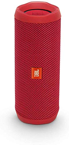 Flip 4 Caixa de Som Porttil Bluetooth, JBL, 28910726, Vermelha
