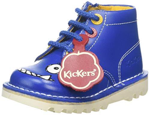 Kickers Baby Jungen Kick Hi Monster Sneaker, Blau (Navy NVY), 29 EU