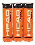 HEAD 3X4B Radical, Palline Tennis Unisex Adulto, Giallo, Taglia unica