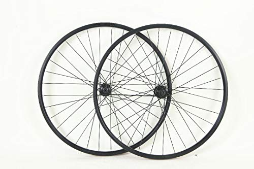 29 inch Alloy ATB Bicycle Wheels with Centerlock Disc Brake Hubs Black