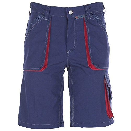 Planam Shorts Basalt, größe XXL, marine / rot / mehrfarbig, 2842060