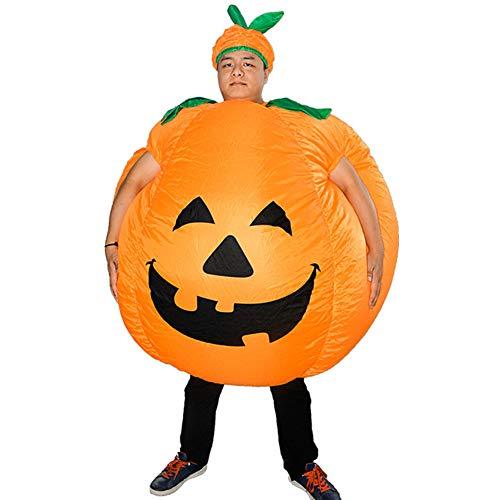 Maxte Disfraz de calabaza inflable para Halloween, cosplay, disfraz de Halloween