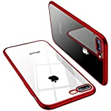 TORRAS Crystal Clear iPhone 8 Plus Case/iPhone 7 Plus Case, [Anti-Yellow] Soft...
