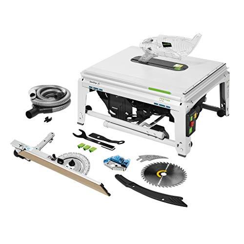 Festool 575781 TKS 80 EBS-Sierra Circular de Mesa con tecnología SawStop
