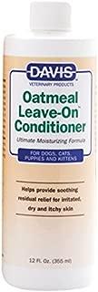 DAVIS oatmeal leave-on 狗和猫护发素,340.2gram