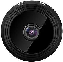 HNQH Mini câmera espiã oculta, câmera oculta sem fio 1080P WiFi, câmera minúscula Nanny com visão noturna de detecção de m...