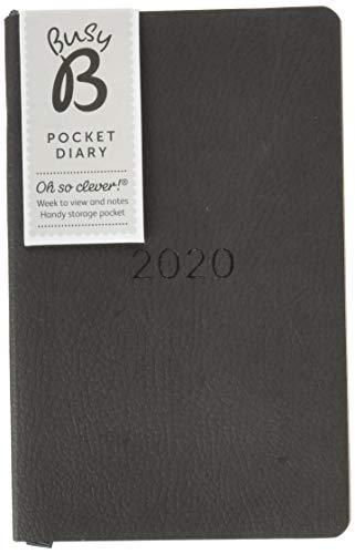 2020 A5 Notizbuch Leder Tagebücher Monatlicher Wochenplaner Terminplaner Kalende