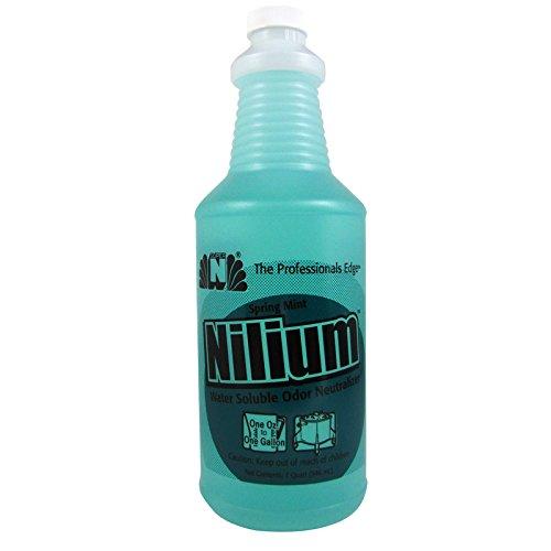 Nilium Spring Mint Scent Water Soluble Odor Neutralizer 32 oz.