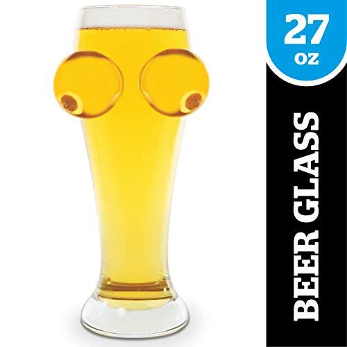 BigMouth Inc Boobie Beer Glass